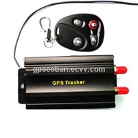 Real time online server googel map gps vehicle tracker TK103B with remotely control