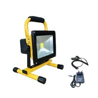 Rechargeable LED floodlight 20W