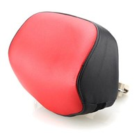 Red Color Genuine Leather Pull-Push Car Headrest Massager