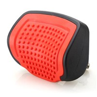 Red Color PU Car Headrest w/o massage