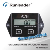 Resettable Hour Meter RPM meter tachometer inductive waterproof