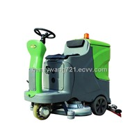 Ride-on Scrubber Dryer