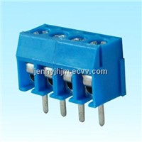 Screw type terminal block with 2 or 3 ways 3.5 or 7mm pitch pcb board mount