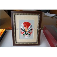 Sheepskin Peking Opera Mask