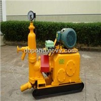 Single cylinder piston grouting pump for sale