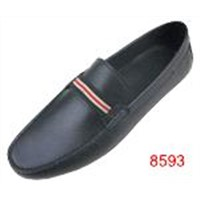 Spring collection leather men casual loafers manufacturer