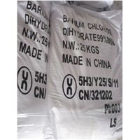 Top quality Barium Chloride Dihydrate 98.5%, 99% 99.5%