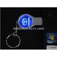 Toyota Brand LED Usb Flash Drive for Gifts USB