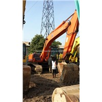 Used HITACHI Hydraulic Crawler Excavator ZX200 Excellent Condition
