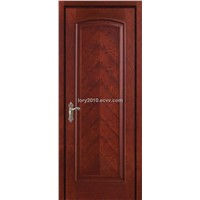 Veneer door made from solid wood and MDF LBD-619