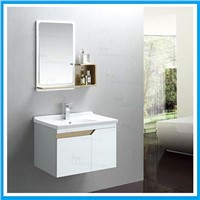 Wall mounted pvc bath cabinet