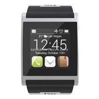 Watch Bluetooth Smartwatch for iOS, Android and BlackBerry - Black