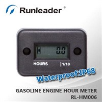 Waterproof Gaso Engine Inductive Hour Meter For Motorcycle, Snowmobil,Motocross RL-HM006