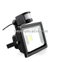 Waterproof IP65 30W PIR LED Flood Light,LED sensor light,led security light