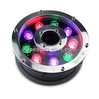 Waterproof IP68 12V/24V 9W/12W LED Underwater Light for Fountains, Swimming Pool, Pond