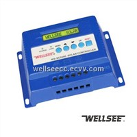 Wellsee WS-SC2460 three stage charge controller, solar regulator
