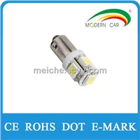 White/Blue/Green/Red/Yellow BA9S 5SMD
