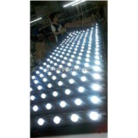 White Color 8*10W Beam LED Bar / LED Beam Strip / Beam LED Wall Washer