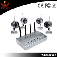 Wireless P.T.Z CCTV Camera System