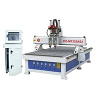 Woodworking CNC Router with Two Spindles (CC-M1325AS2)
