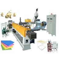 XPS foam board extrusion line