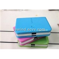 candy color 12000mAh High capacity  Li-ion battery use mobile charger, power bank for phone, pad