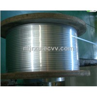 flat roll steel wire
