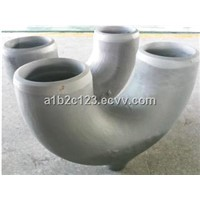 heat resistant alloy casting pipe fitting elbow