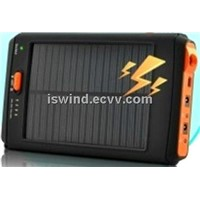 high capacity SOLAR POWER BANK Lithium Polymer use for phone and pad