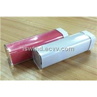 lipstick power bank MOBILE POWER for iphone or other phones and pad