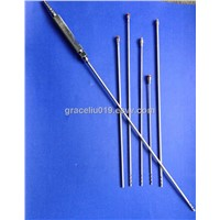 medical liposuction cannulas with handle
