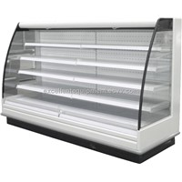 refrigerated multideck display cabinet usd in supermarket