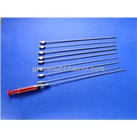 screw head liposution needle