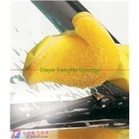 seal sponge adhesive sponge gloves for car-washing