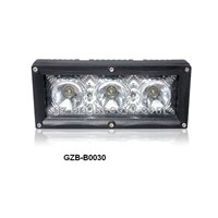 single row cree Interconnectable LED light bar 30W for offroad, truck, suv ,atv, forklift