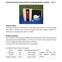solar power generator system for home