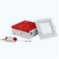 square downlight ,round downlight,18w led glass downlight with dimmable