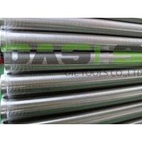 stainless steel slot wedge wire water well screen