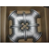 stainless steel wear resistant investment casting flange