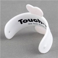 touch stand for iphone 5G with silicone material