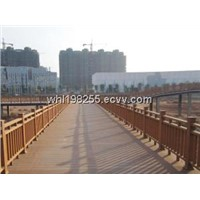 wpc fence ( made in china)
