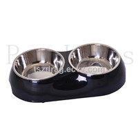 Double Dinner Pet Bowl