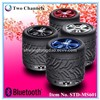 Cool Car Tyre shaped speaker Mini Bluetooth Speaker for Cell phone Laptop MP3