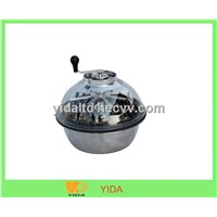 19 inch bowl hand drive leaf trimmer