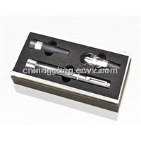 3 Pcs Wine Set Comes with Paper Wine Gift Box&4 Pcs Wine Accessories