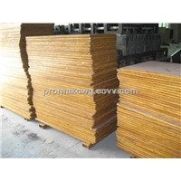 Bamboo pallet for brick /block machine