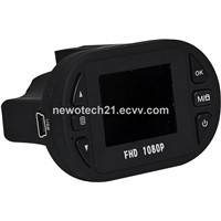 Car dvr with FULL HD 1920*1080P with G-sensor 12 IR night vision Free shipping  car dash cam