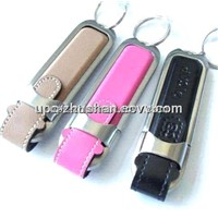 Competitive Price 8GB Leather USB Flash Driver