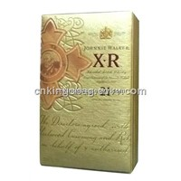 Deluxe PU Leather Wine Packaging Box, Gift Wine Box(Single Whisky Leather Box)