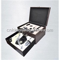 Double Layer Wine Box Set Contains Wine Accessories with Electric Corkscrew and Ren Wine Aerator